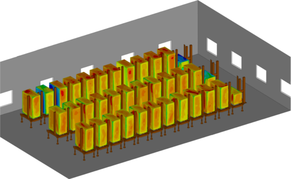 Data Center HVAC modeling